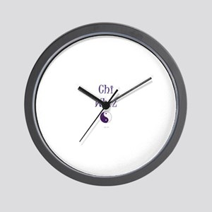 Chi Whiz Wall Clock