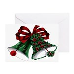 Vintage Style Christmas Greeting Cards (Pk of 10)