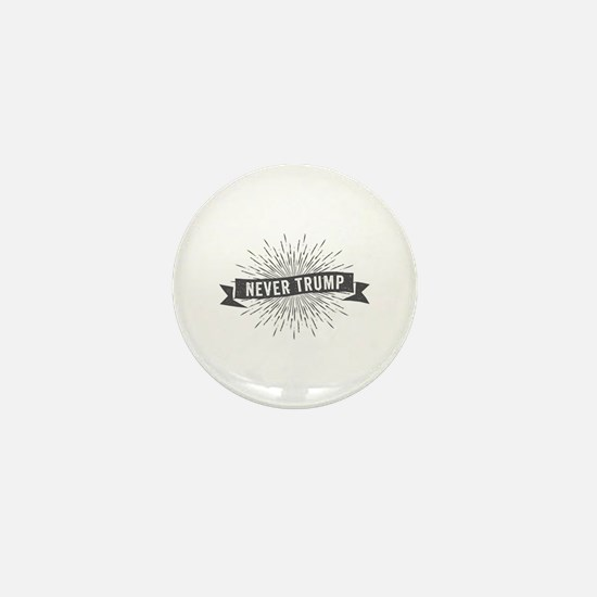 Starburst Never Trump Mini Button