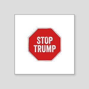Stop Sign Stop Trump Sticker