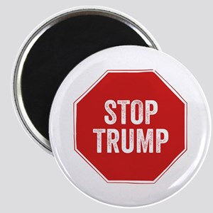 Stop Sign Stop Trump Magnets