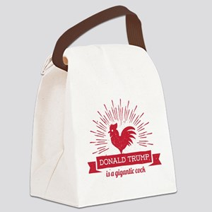 Trump Gigantic Cock Canvas Lunch Bag