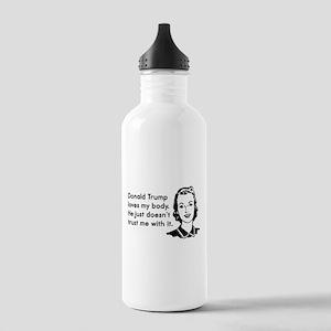 Trump Trust Women Water Bottle
