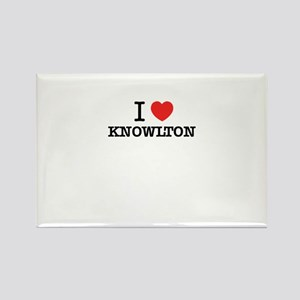 I Love KNOWLTON Magnets