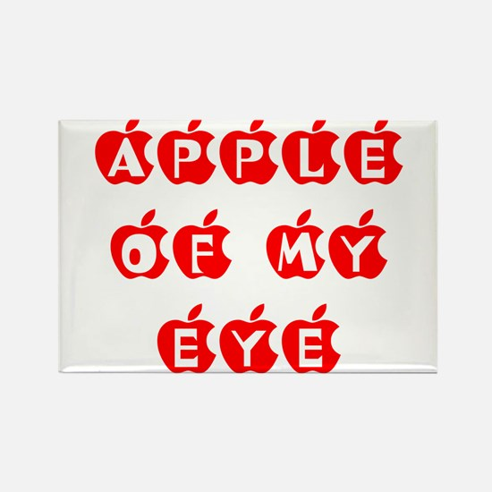 apple of my eye Rectangle Magnet