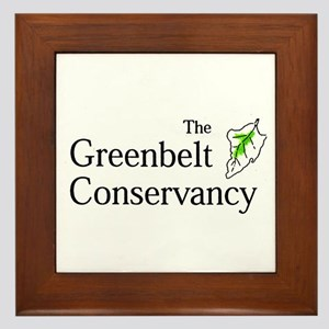 The Greenbelt Conservancy Framed Tile