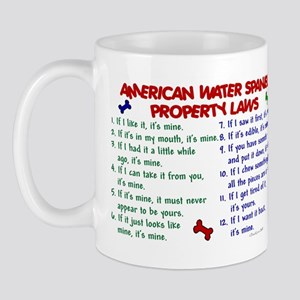 American Water Spaniel Property Laws 2 Mug