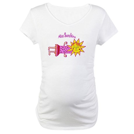 Miss Sunshine Maternity T-Shirt