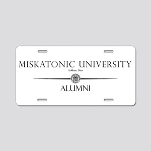 Miskatonic University Alumni Aluminum License Plat
