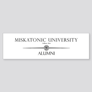 Miskatonic University Alumni Bumper Sticker
