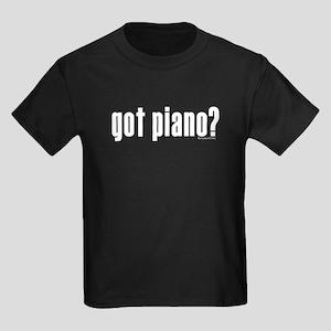 got piano? Kids Dark T-Shirt