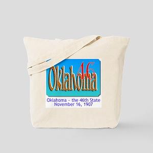 Oklahoma 46 Tote Bag