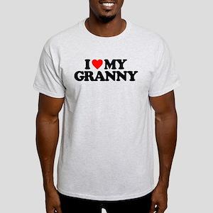 I LOVE MY GRANNY Light T-Shirt