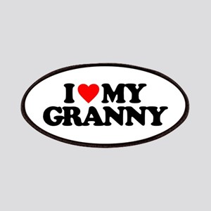 I LOVE MY GRANNY Patch