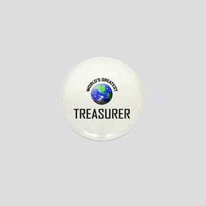 World's Greatest TREASURER Mini Button