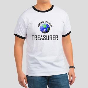 World's Greatest TREASURER Ringer T
