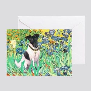 Irises / T (#1) Greeting Card