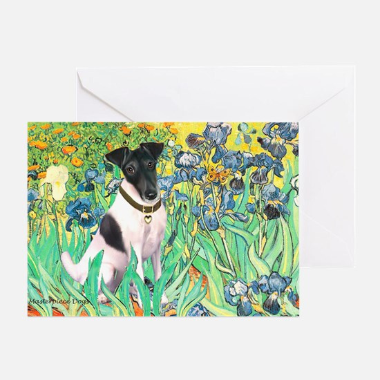 Irises / T (#1) Greeting Card
