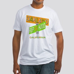 REP OAKLAND Fitted T-Shirt