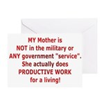 Working Mother Greeting Card