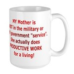 Working Mother Large Mug