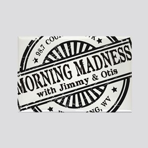 Logo for Morning Madness with Jimmy & Otis Magnets