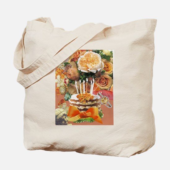 Coral Birthday Tote Bag