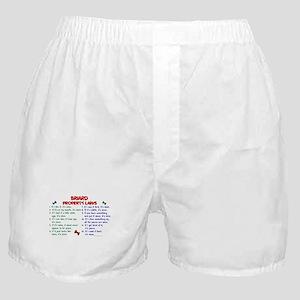 Briard Property Laws 2 Boxer Shorts