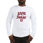 100% Swiss Long Sleeve T-Shirt