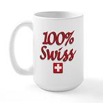100% Swiss Large Mug