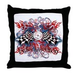 SpeedMeter Throw Pillow