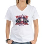 SpeedMeter Women's V-Neck T-Shirt