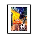Cafe / Smooth T (#1) Framed Panel Print