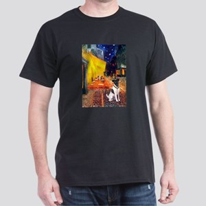 Cafe / Smooth T (#1) Dark T-Shirt