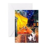 Cafe / Smooth T (#1) Greeting Cards (Pk of 20)