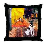 Cafe / Smooth T (#1) Throw Pillow