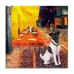 Cafe / Smooth T (#1) Tile Coaster