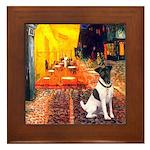 Cafe / Smooth T (#1) Framed Tile