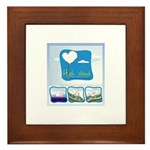 High Cloud Framed Tile