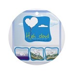 High Cloud Ornament (Round)