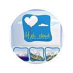 """High Cloud 3.5"""" Button (100 pack)"""