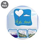 """High Cloud 3.5"""" Button (10 pack)"""