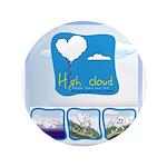 """High Cloud 3.5"""" Button"""