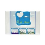 High Cloud Rectangle Magnet (10 pack)