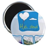"High Cloud 2.25"" Magnet (100 pack)"