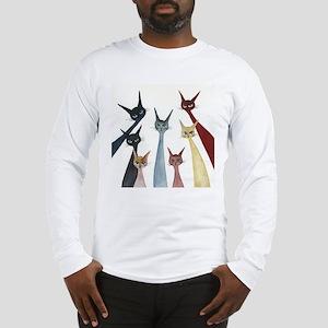 Aroostook Stray Cats Long Sleeve T-Shirt