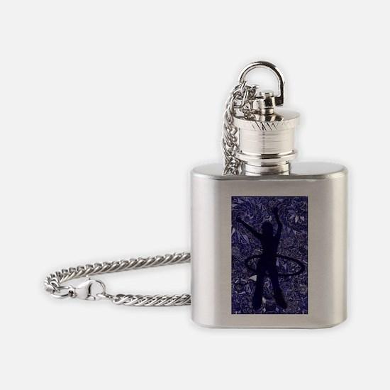 Hoop Dreams Flask Necklace