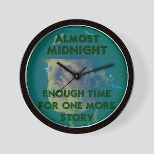 Almost Midnight Wall Clock