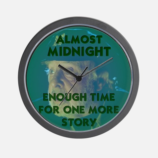 Almost Midnight Wall Clock