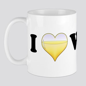 I Love White Wine Mug